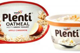Plenti Oatmeal Meets Greek Yogurt is underwriting a brief return to print for The Onion.