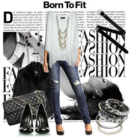 Polyvore is hosting a sponsored design competition surrounding Born to Fit, Gap's denim relaunch.