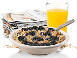 The new 'Amazing Mornings' campaign from Juniper Park, Toronto asks consumers 'Does your breakfast make you amazing?'