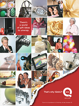 QVC aims to make 'Q' its own, in its new 'iQdoU?' campaign.