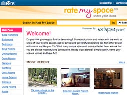 HGTV's 'Rate My Space' began as a popular section on HGTV.com and evolved into a series.