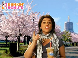 Dunkin' Donuts shelved this online ad.