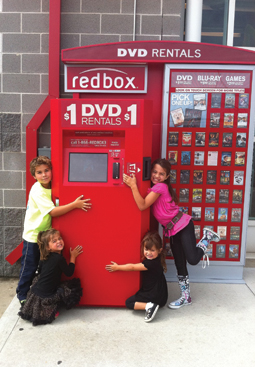 Consumers are expressing their love for Redbox.