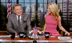 After 28 years with the show, Regis Philbin announced his retirement from 'Live With Regis & Kelly.'