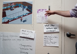 Students reimagine the post office