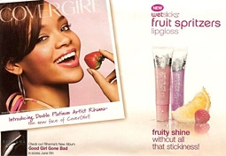 Rihanna has been a spokesmodel for CoverGirl for three years amid a strong run for Cover Girl.