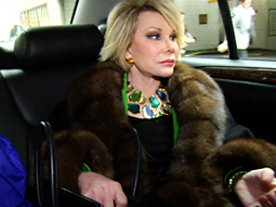 The screening for 'Joan Rivers: A Piece of Work' received many sponsors, but none of the big guns.