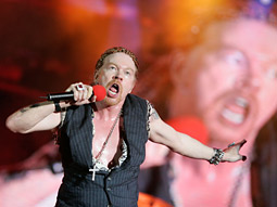 Axl Rose took 17 years to deliver the new Guns N' Roses album.