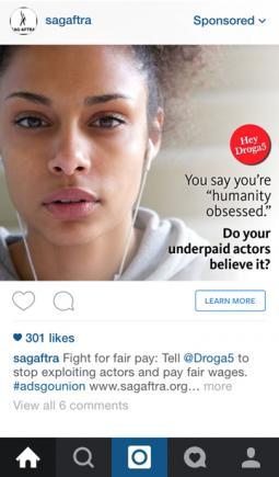 Sponsored post by SAG-AFTRA