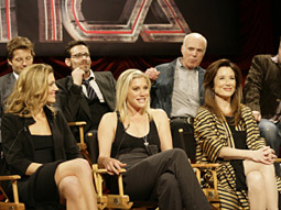 The network announced an aggressive slate of original programming for 2008-2009, led by the return of 'Battlestar Galactica' for its final season.