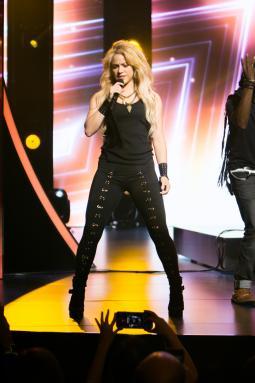 Shakira at Univision's upfront presentation on Tuesday.
