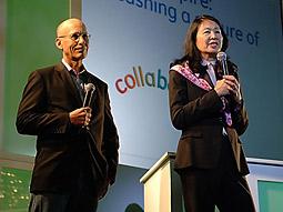 Brett Shevack and Judy Hu