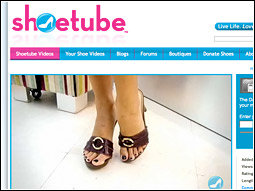 Shoetube's regular contributors devote their video face time to rhapsodizing about shoes, caressing shoes, gazing longingly at shoes, comparing shoes with one another, perhaps even wearing shoes.