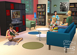 The Sims 2 Ikea Home Stuff online content package, featuring virtual versions of 60 of Ikea's well-known products, will be available in late June.