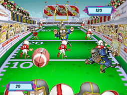 'Six Flags Fun Park' is a casual game for the Nintendo Wii and Sony PlayStation 2 consoles that will debut in September, when the company's 21 theme parks enter their slowest season and video-game sales enter their busiest.