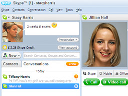 Skype has already spent $4.2 million in the first half of this year, according to TNS Media Intelligence.