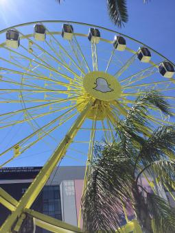 Publicis Groupe President-CEO Arthur Sadoun repeatedly invoked Snapchat's Cannes ferris wheel as a warning that agencies need to transform.