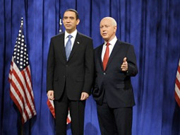 The Not Ready for Prime Time Players' 'SNL Presidential Bash 2008' helped NBC win the night.