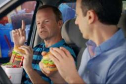 An image from Sonic ad campaign. The chain only recently broke a streak of quarterly sales declines.