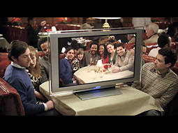 Sony's holiday push under its HDNA theme aims to show the ease of connecting HD TVs and cameras.