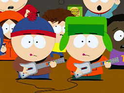 An entire episode of 'South Park' was built around Guitar Hero III.