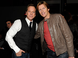 Kiefer Sutherland and Denis Leary