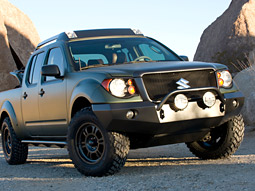 One of the projects Suzuki has tapped Siltanen for is the launch of Suzuki's first pickup truck, the 2009 Equator.