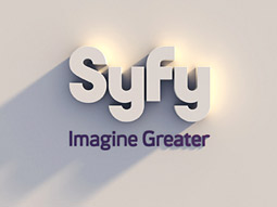 Syfy's new 3-D logo does away with the current purple planet icon to further distance itself from the space-like brand association.