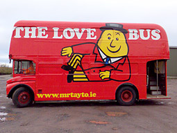 Mr. Tayto: Looking for love.