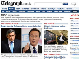 Even though all the sordid details of the scandal have been available free on the Telegraph's website, its newspaper sales have nevertheless continued to rise.