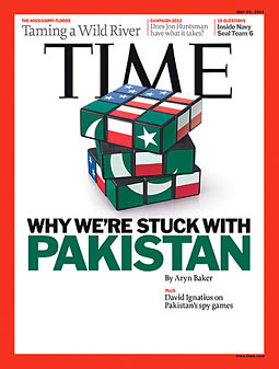 The latest issue of Time , a Time Inc. title.