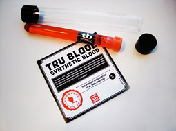 Tru Blood beverage samples have been part of HBO's marketing effort.
