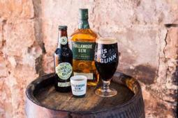 Tullamore D.E.W. Irish whiskey joined forces with Scottish brewery, Innis & Gunn.