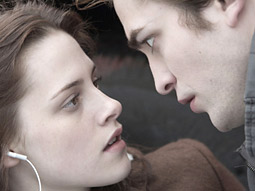 The book and film's main characters kiss feverishly, but not to have sex before marriage, making the franchise appealing to both moms and teens.