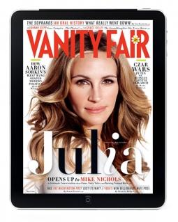 Vanity Fair on the iPad