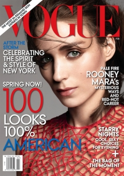 Vogue's February 2013 issue