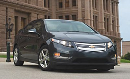 The Volt is being marketed as a 'halo car' to underscore GM's green credentials.