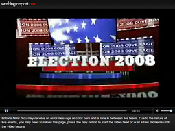 The Washington Post's election night coverage is produced by WashingtonPost.com and Newsweek.