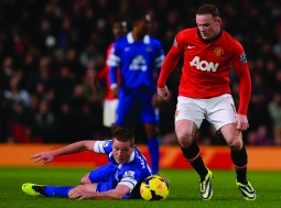 Aon's deal with Manchester United had soccer star Wayne Rooney sporting the brand.
