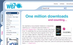We7 recently hit one million downloads.
