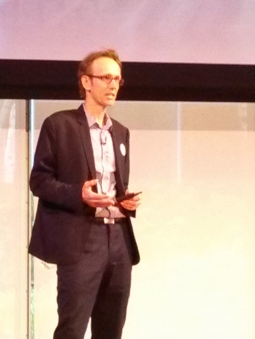 Chief Revenue Officer Curt Hecht at the NewFront pitch