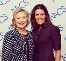 Wendy Clark, Hillary Clinton