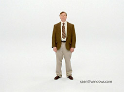 A new spot for Microsoft features a dead ringer for actor John Hodgman.