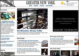 The online version of The Journal's new 'Greater New York' section.