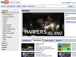 The new video site will be owned and hosted by YouTube at YouTube.com/shows and will be sold as part of Google TV.