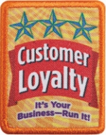 The Scouts' new Customer Loyalty badge