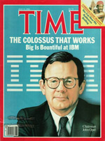 IBM makes the cover of Time magazine.