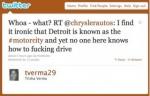 What Lurks Behind Chrysler's F-bomb? Social-Media Turf War