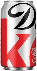 Turner Duckworth handled the Diet Coke packaging redesign in 2012.