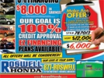 Honda Dealer Gets Into Ad Accident